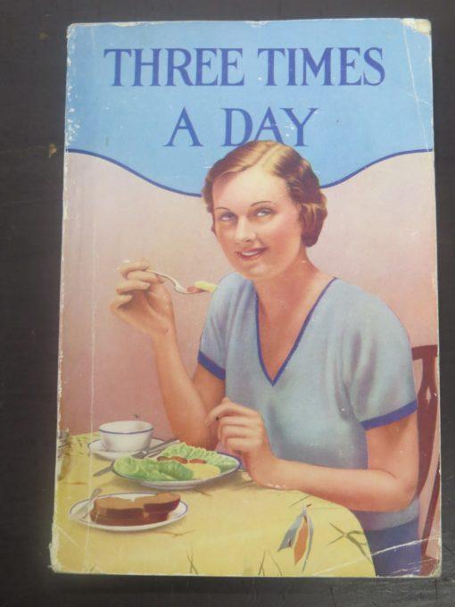 Belle Wood-Comstock, Three Times a Day, Signs Publishing Company, Victoria, Australia, Health, Dead Souls Bookshop, Dunedin Book Shop