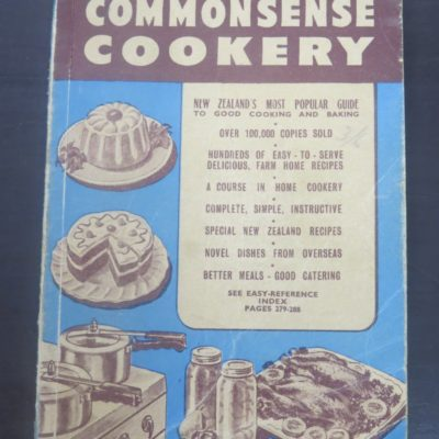 Tui's Third Book of Commonsense Cookery, Wellington, Cooking, Cookery, Tui, Dead Souls Bookshop, Dunedin Book Shop