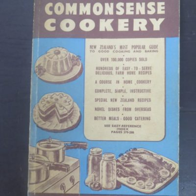 Tui';s Third Book of Commonsense Cookery, Hutcheson, Bowman, Stewart, Wellington, Cooking, Cookery, Dead Souls Bookshop, Dunedin Book Shop