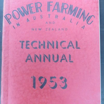 Power Farming in Australia, Sydney, Dead Souls Bookshop, Dunedin Book Shop