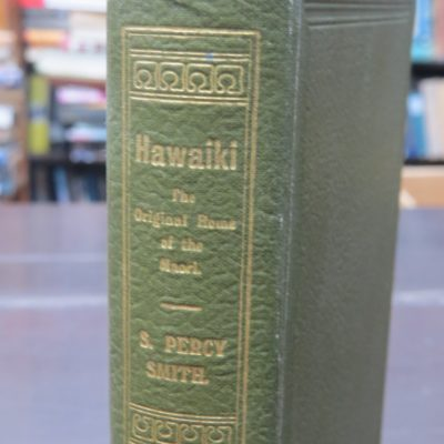 Hawaiki, The Original Home of the Maori, Whitcombe & Tombs, New Zealand Non-Fiction, History,. Pacific, Dead Souls Bookshop, Dunedin Book Shop