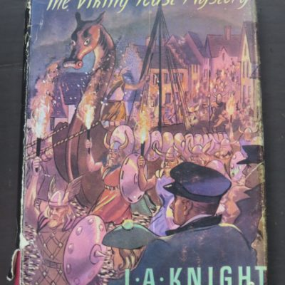 Knight, The Viking Feast Mystery, Sampson Low, London, Crime, Mystery, Detection, Dead Souls Bookshop, Dunedin Book Shop