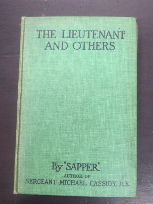 Sapper, Lieutenant And Others, Hodder, London, Vintage, Dead Souls Bookshop, Dunedin Book Shop