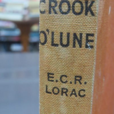 E. C. R. Lorac, Crook O'Lune, Crime Club, Collins, London, Crime, Mystery, Detection, Dead Souls Bookshop, Dunedin Book Shop