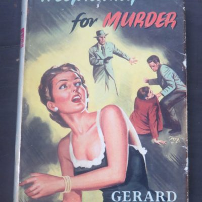 Gerard Fisher, Hospitality For Murder, Robert Hale, London, Crime, Mystery, Detection, Dead Souls Bookshop, Dunedin Book Shop