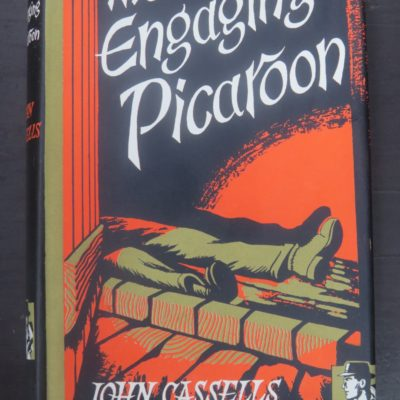 John Cassells, The Engagin Picaroon, John Long, London, Picaroon Thriller, Crime, Mystery, Detection, Dead Souls Bookshop, Dunedin Book Shop