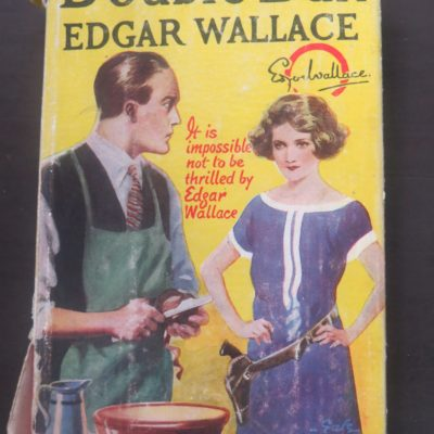 Edgar Wallace, Double Dan, Hodder and Stoughton, London, Vintage, Dead Souls Bookshop, Dunedin Book Shop