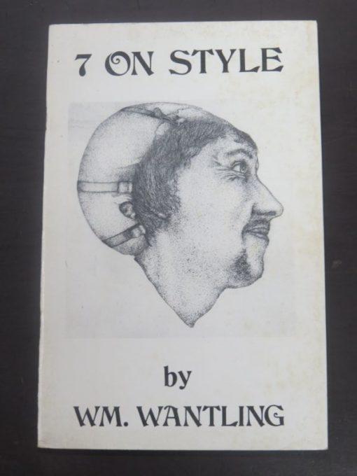 William Wantling, Winans, Cleavin, Second Coming Press, San Francisco, 1975, Literature, New Zealand Art, Poetry, Dead Souls Bookshop, Dunedin Book Shop
