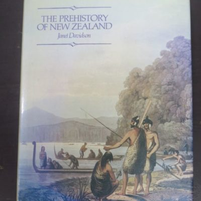 Janet Davidson, The Prehistory of New Zealand , Longman Paul, Auckland, New Zealand Non-Fiction, Dead Souls Bookshop, Dunedin Book Shop