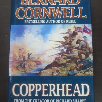 Bernard Cornwell, Copperhead, HaperCollins, London, 1994, Literature, Dead Souls Bookshop, Dunedin Book Shop