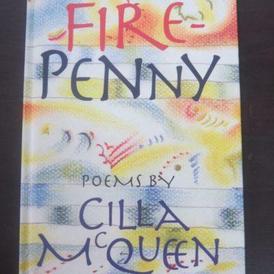 Cilla McQuuen, Fire Penny, University of Otago, Dunedin, 2005, New Zealand Poetry, Poetry, Duunedin Book Shop, Dead Souls Bookshop