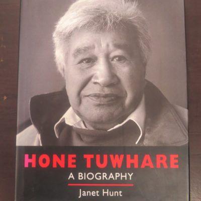 Janet Hunt, Hone Tuwhare, A Biography, Godwit, Random House, Auckland, 1998, New Zealand Poetry, New Zealand Poet, New Zealand Literature, Dead Souls Bookshop, Dunedin Book Shop