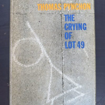 Thomas Pynchon, The Crying of Lot 49, Lippincott, New York, 1966, Literature, Dead Souls Bookshop, Dunedin Book Shop