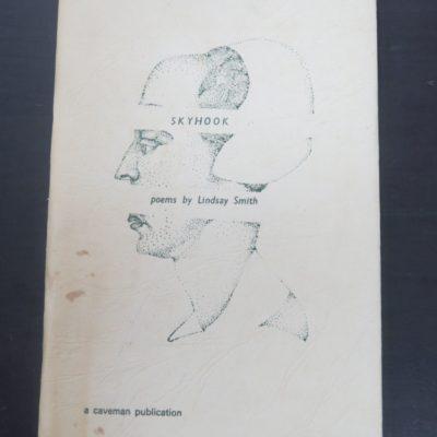 Lindsay Smith, Barry Cleavin, Skyhook, poems, Caveman Press, Dunedin, 1971, New Zealand Poet, New Zealand Poetry, Dunedin, New Zealand Literature, Art, Dead Souls Bookshop, Dunedin Book Shop