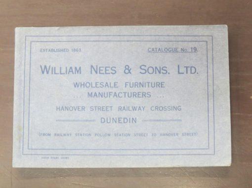 William Nees, Catalogue 19, Dunedin, Otago, Furniture, Dead Souls Bookshop, Dunedin Book Shop