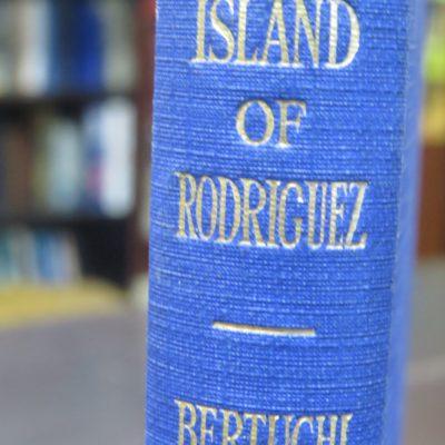 A. J. Bertuchi, Island of Rodriguez, John Murray, London, 1923, Indian Ocean, Mascarenhas Group, History, Dead Souls Bookshop, Dunedin Bookshop