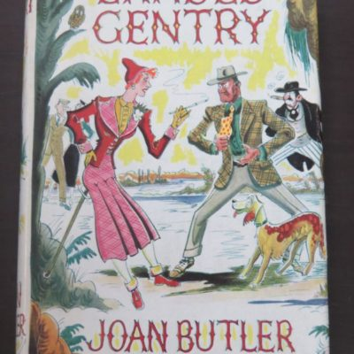 Joan Butler, Landed Gentry, Stanley Paul and Co., London 1954, Literature, Robert William Alexander, Dead Souls Bookshop, Dunedin Book Shop