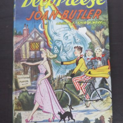 Joan Butler, Deep Freeze, Stanley Paul and Co., London, 1952, Literature, Robert William Alexander, Dead Souls Bookshop, Dunedin Book Shop