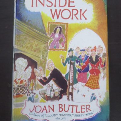 Joan Butler, Inside Work, Stanley Paul and Co., London, 1956, Literature, Dead Souls Bookshop, Dunedin Book Shop