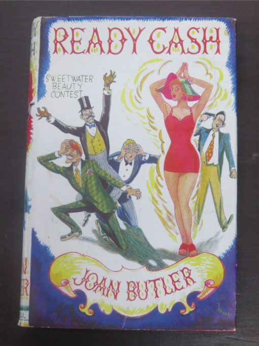 Joan Butler, Ready Cash, Stanley Paul and Co., London, 1957, Literature, Robert William Alexander, Dead Souls Bookshop, Dunedin Book Shop