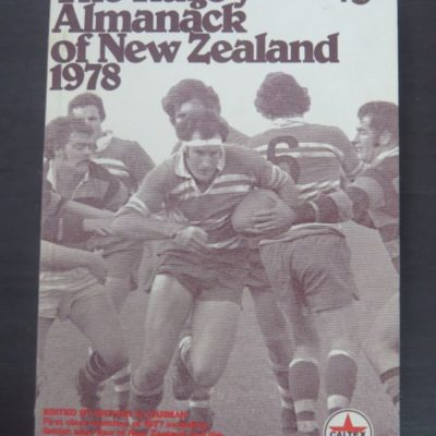 The 1978 Rugby Almanack of New Zealand, Sporting Publications, Tawa, 1978, Sport, New Zealand Sport, Dead Souls Bookshop, Dunedin Book Shop