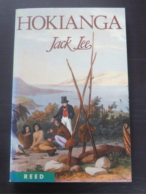 Jack Lee, Hokianga, Reed, Auckland, 1996 reprint (1987), New Zealand Non-Fiction, Dead Souls Bookshop, Dunedin Book Shop