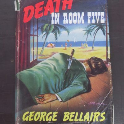 George Bellairs, Death In Room Five, Thriller Book Club, London, Crime, Mystery, Detection, Dead Souls Bookshop, Dunedin Book Shop