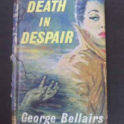 George Bellairs, Death In Despair, Thriller Book Club, London, 1960, Crime, Mystery, Detection, Dead Souls Bookshop, Dunedin Book Shop