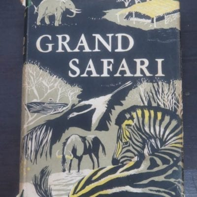 Thomas S. Arbuthnot, Grand Safari, William Kimber, London, 1954, Hunting, Africa, Dead Souls Bookshop, Dunedin Book Shop