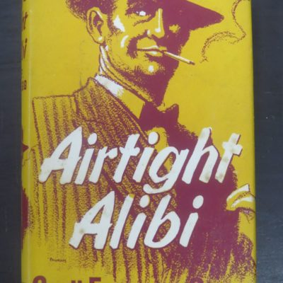 Cecil Freeman Gregg, Airtight Alibi, Methuen, London, 1956, Crime, Mystery, Detection, Dead Souls Bookshop, Dunedin Book Shop