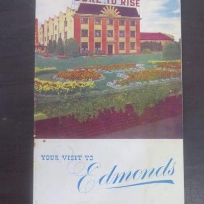 Sure To Rise, Edmonds, Your Visit To Edmonds - souvenir booklet, T. J. Edmonds, Christchurch, Cooking, Baking, Dead Souls Bookshop, Dunedin Book Shop