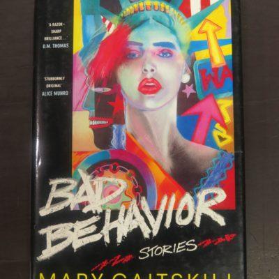 Mary Gaitskill, Bad Behaviour : Stories, Hodder & Stoughton, London, 1989, Literature, Dead Souls Bookshop, Dunedin Book Shop