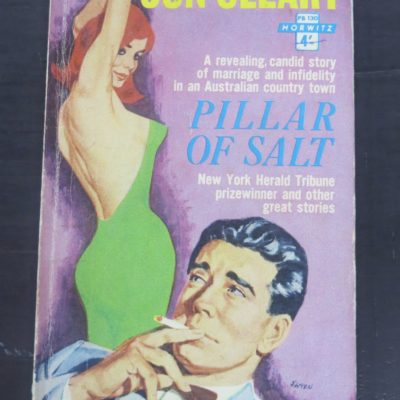 Jon Cleary, Pillar of Salt and other stories, Horwitz Publications, Sydney, 1963, Crime, Mystery, Detection, Dead Souls Bookshop, Dunedin Book Shop