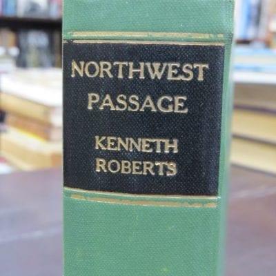 Kenneth Roberts, Northwest Passage, Angus and Robertson, Sydney, 1938, Literature, Dead Souls Bookshop, Dunedin Book Shop