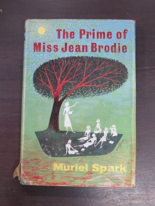 Muriel Spark, The Prime of Miss Jean Brodie, Macmillan, London, 1961, Literature, Dead Souls Bookshop, Dunedin Book Shop