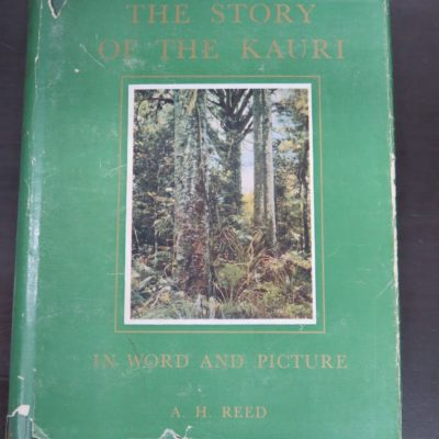 A. H. Reed, The Story Of The Kauri, In Word And Picture, A. H. Reed and A. W. Reed, Wellington, 1953, Natural History, New Zealand Non-Fiction, Dead Souls Bookshop, Dunedin Book Shop