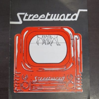 Streetword, 1974 (NZ), Contributors: Trevor Reeves, Bukowski, William Wantling, Alan Brunton, Tony Beyer, New Zealand Literature, Small Press, Dead Souls Bookshop, Dunedin Book Shop