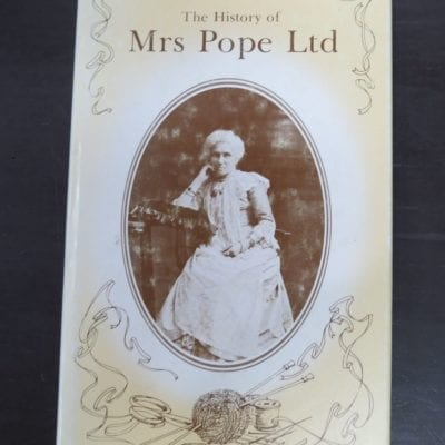 Robyn Gossett, The History of Mrs Pope Ltd, Mrs Pope Limited, Christchurch, 1979,, New Zealand Non-Fiction, Dead Souls Bookshop, Dunedin Book Shop