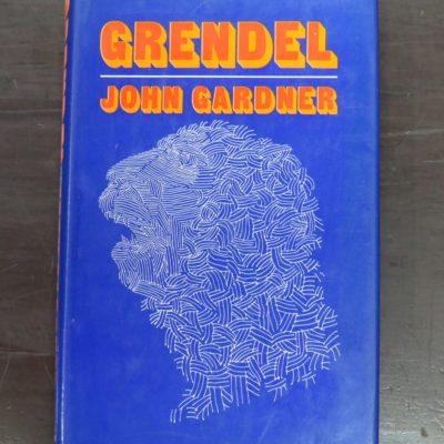 John Gardner, Grendel, Illustrated by Emil Antonucci, Andre Deutsch, London, 1972, Literature, Dead Souls Bookshop, Dunedin Book Shop