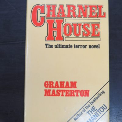 Graham Masterton, Charnel House, Ghost Hunters' Library, Bailey Bros and Swinfen Ltd., London, 1979, Horror, Dead Souls Bookshop, Dunedin Book Shop