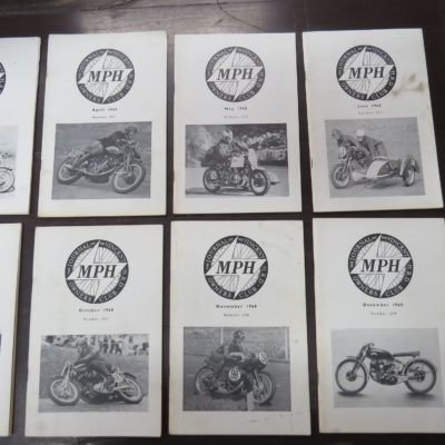 MPH, The Journal of the Vincent-HRD Owner's Club, 1968, Automobiles, Vincent Motorcycles, Motorcycles, Dead Souls Bookshop, Dunedin Book Shop