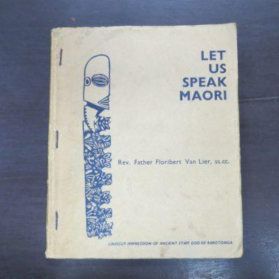 Rev. Father Floribert Van Lier, Let Us Speak Maori, The Easy Way To Cook Island Maori, Pacific, History, Dead Souls Bookshop, Dunedin Book Shop