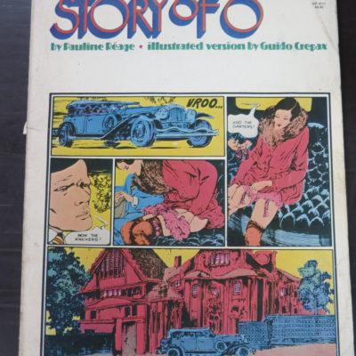 Pauline Reage, Story Of O, illustrated version by Guido Crepax, Grove Press, New York, 1981, Erotica, Art, Illustration, Literature, Dead Souls Bookshop, Dunedin Bookshop