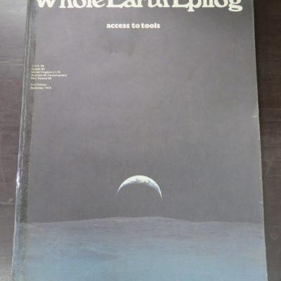 Whole Earth Epilog: access to tools, Penguin, England, 1974, History, pulp, Dead Souls Bookshop, Dunedin Book Shop