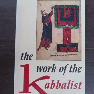 Z'ev ben Shimon Halevi, the work of the Kabbalist, Samuel Weiser, Maine, 1986, Occult, Religion, Philosophy, Esoteric, Dead Souls Bookshop, Dunedin Book Shop