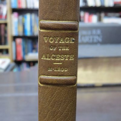 John McLeod, Voyage of His Majesty's Ship Alceste, Along the Coast of Corea, To The Island of Lewchew, With An Account of Her Subsequent Shipwrecks, Second Edition, John Murray, London, 1818, Antiquarian, History, Travel, Exploration, Dead Souls Bookshop, Dunedin Book Shop